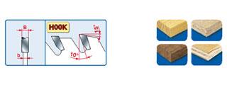 LU2B HM - Пилы для пиления древесных и композитных панелей